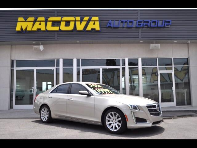 2014 Cadillac CTS Sedan 4dr Sdn 2.0L Turbo Luxury RWD
