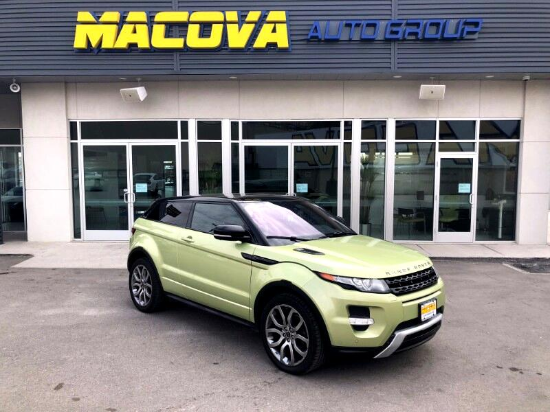 2012 Land Rover Range Rover Evoque Dynamic Premium 3-Door