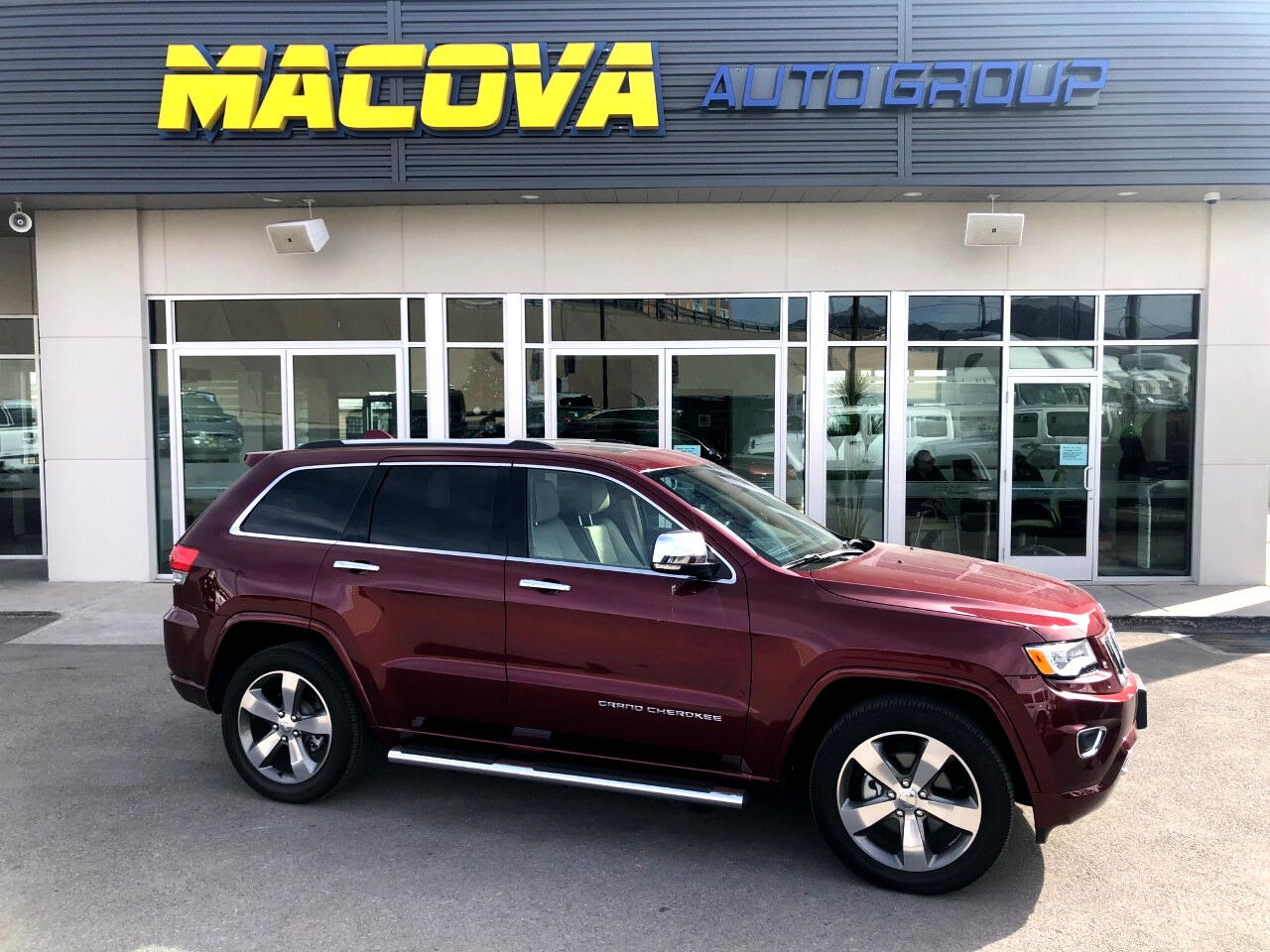 Jeep Grand Cherokee 2WD 4dr Overland 2016