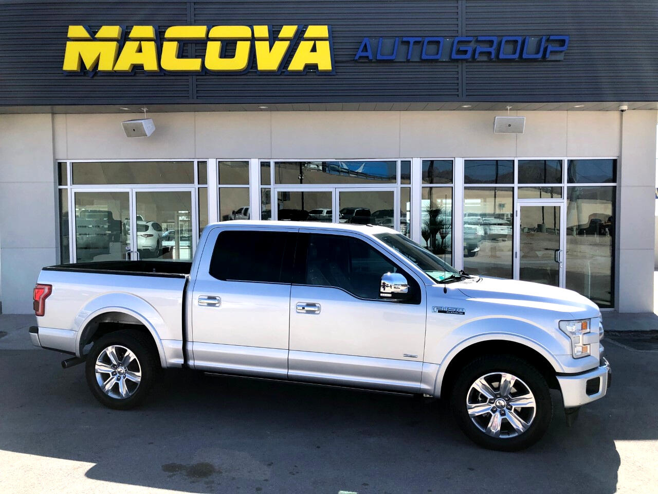 Ford F-150 Platinum SuperCrew 5.5-ft. Bed 4WD 2017