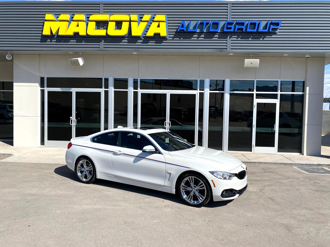 BMW 430i 430i SULEV Coupe 2017