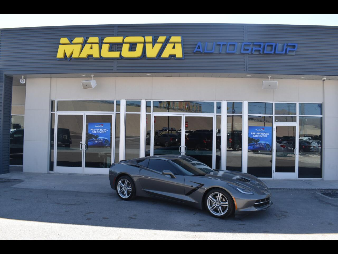 Chevrolet Corvette 2dr Stingray Cpe w/1LT 2016