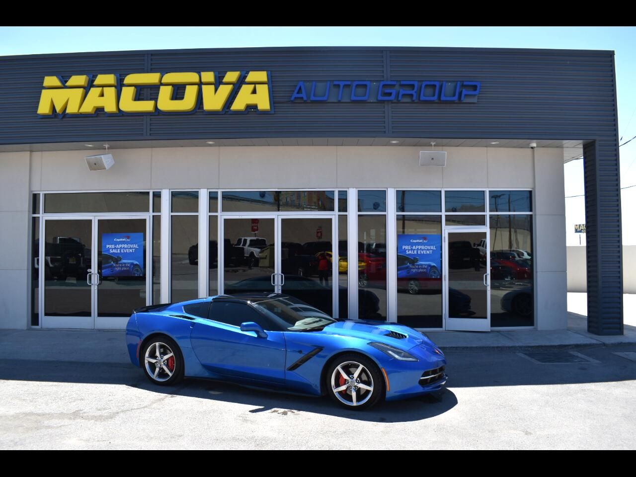 Chevrolet Corvette 2dr Stingray Cpe w/2LT 2015