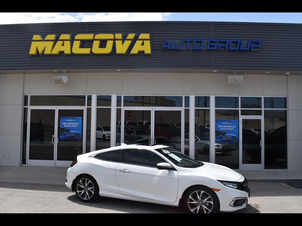 Honda Civic Coupe Touring CVT 2019