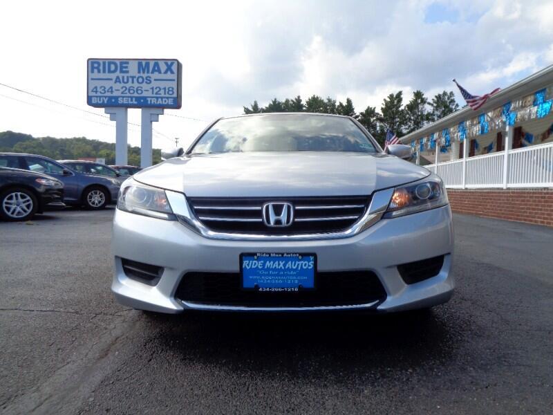 Honda Accord LX Sedan CVT 2013