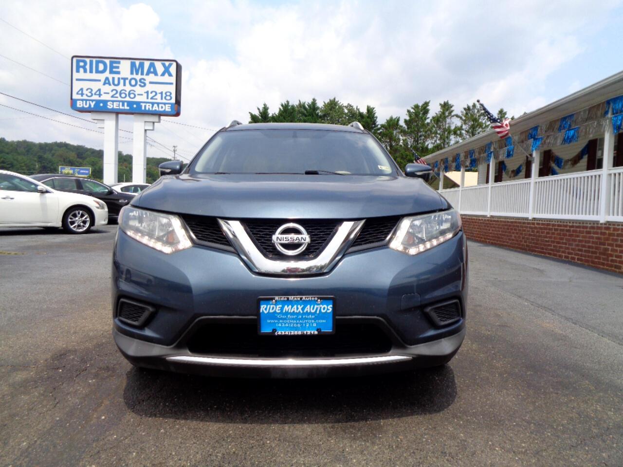Nissan Rogue FWD 4dr SV 2014