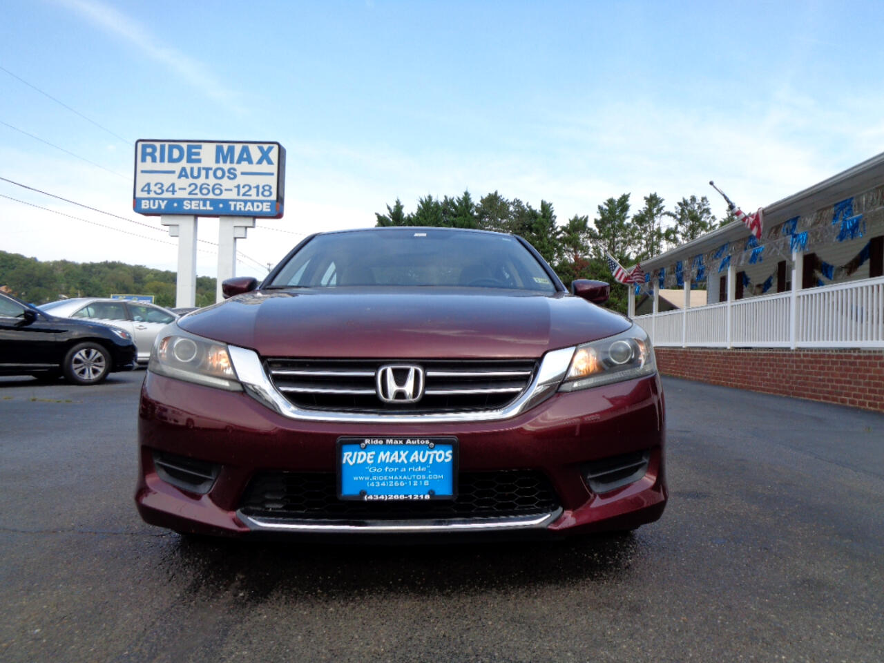 Honda Accord Sdn 4dr I4 CVT LX 2013