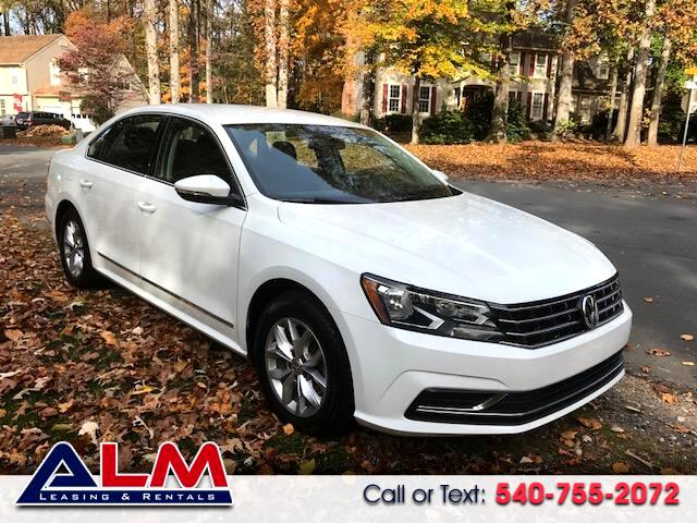 2016 Volkswagen Passat 1.8T S AT