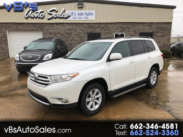 2012 Toyota Highlander 2WD with 3rd-Row Seat