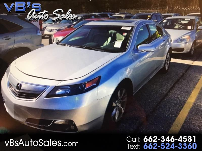 Acura TL 6-Speed AT with Tech Package and 18-In. WP 2013