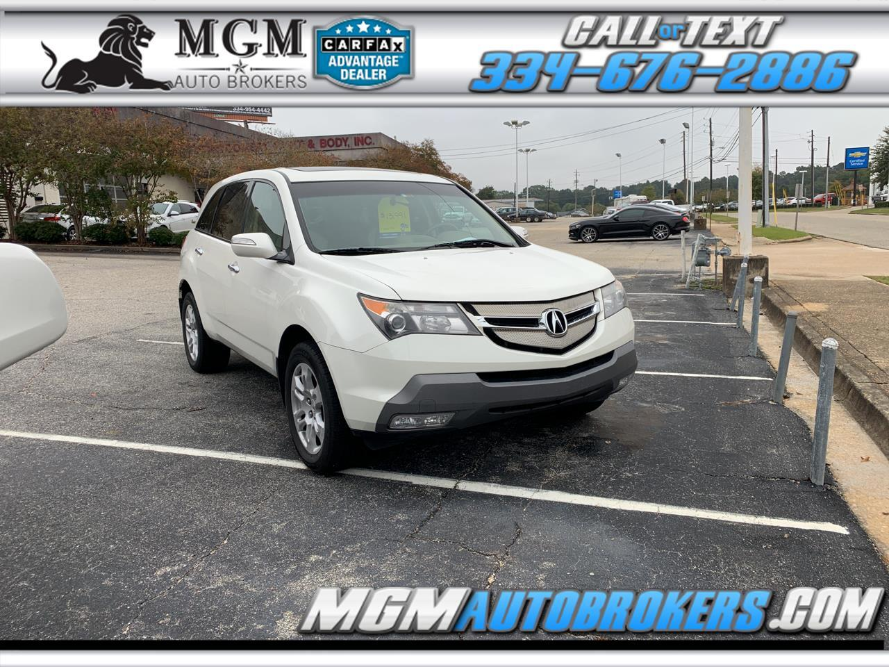 2007 Acura MDX AWD 4dr Technology/Entertainment Pkg