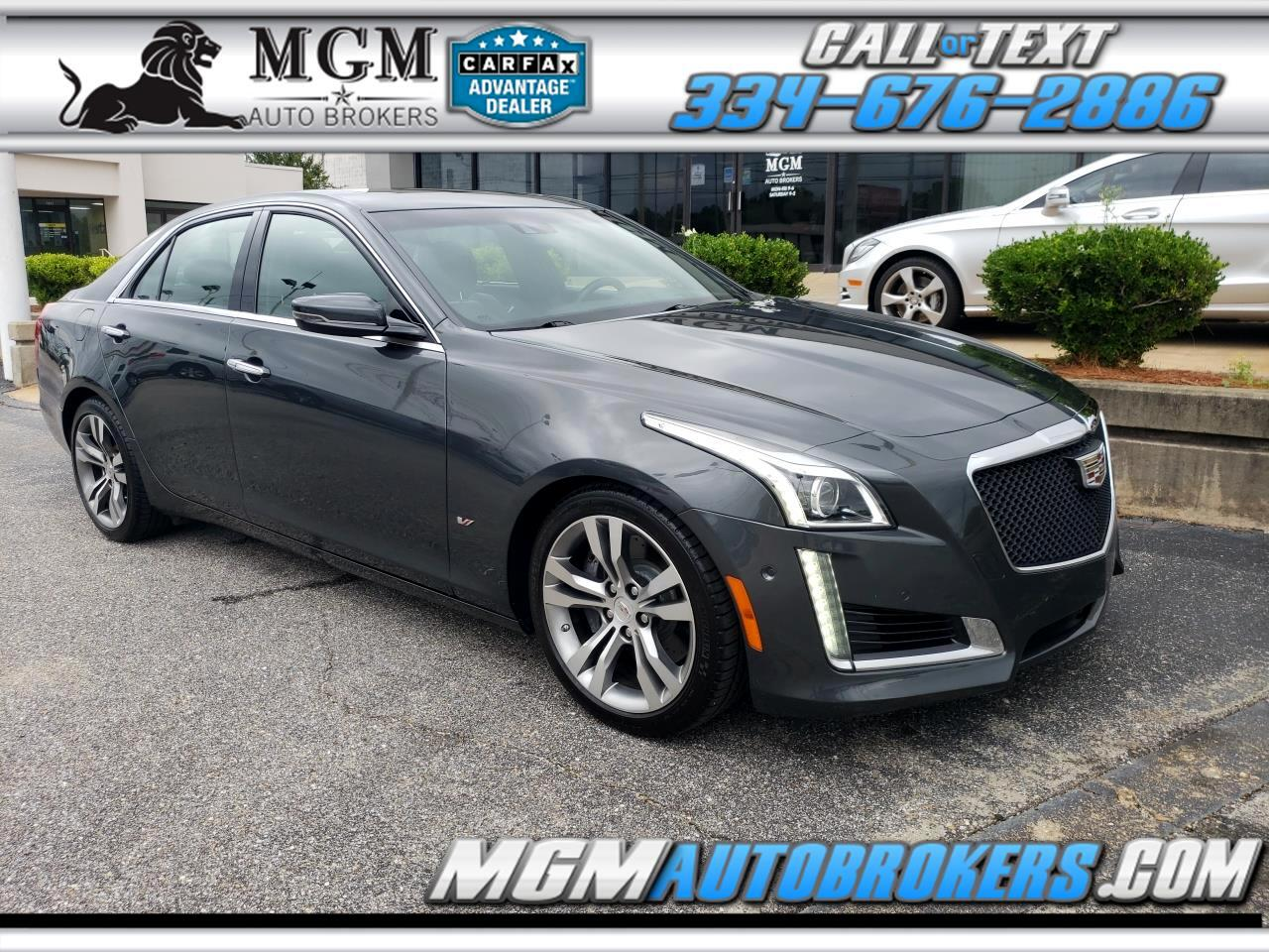 2014 Cadillac CTS Sedan VSPORT PREMIUM