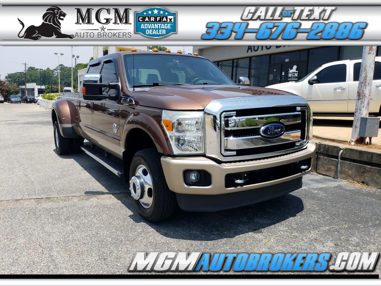 2012 Ford Super Duty F-350 DRW SUPER DUTY