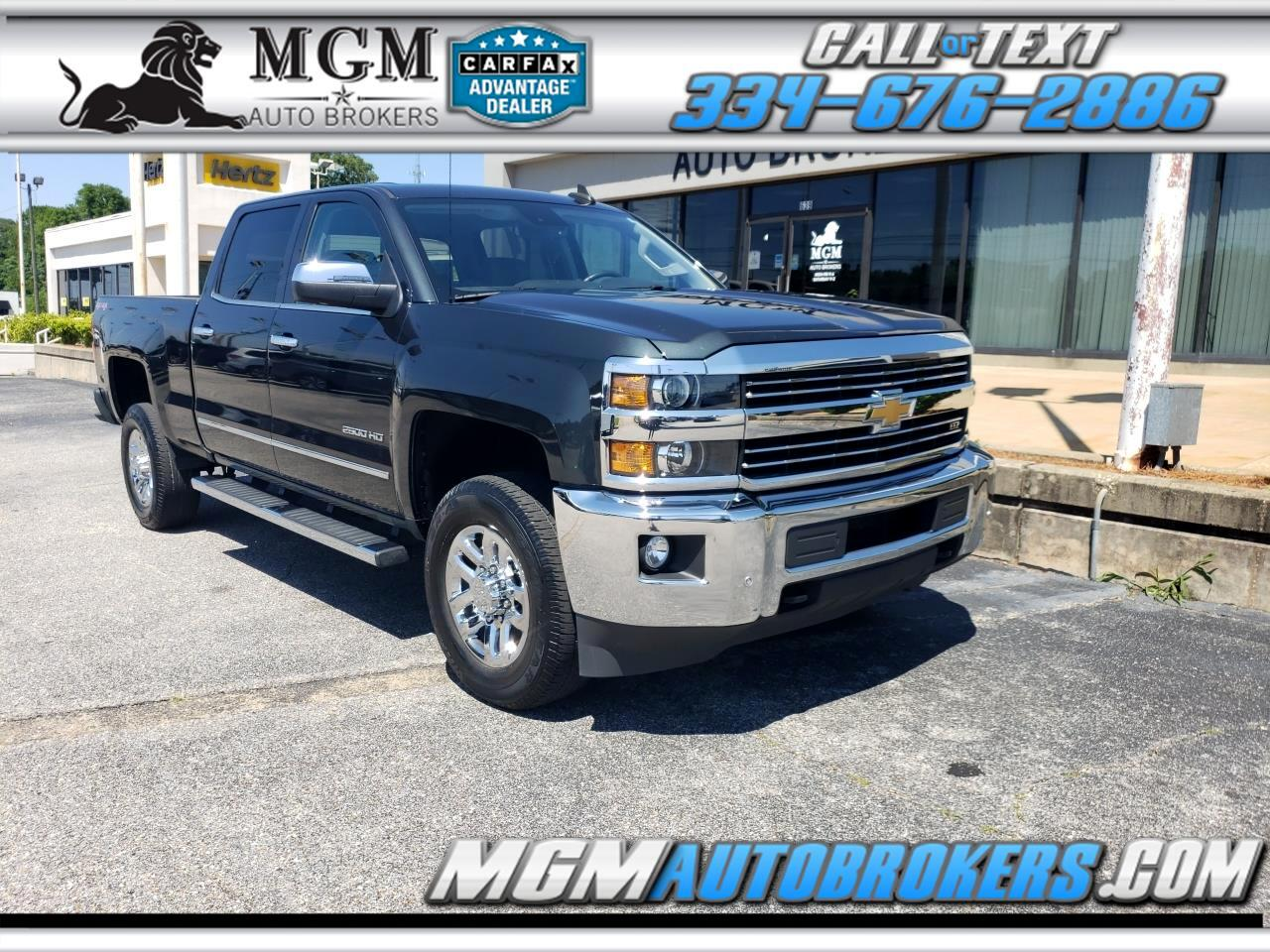 2017 Chevrolet Silverado 2500HD HEAVY DUTY LTZ