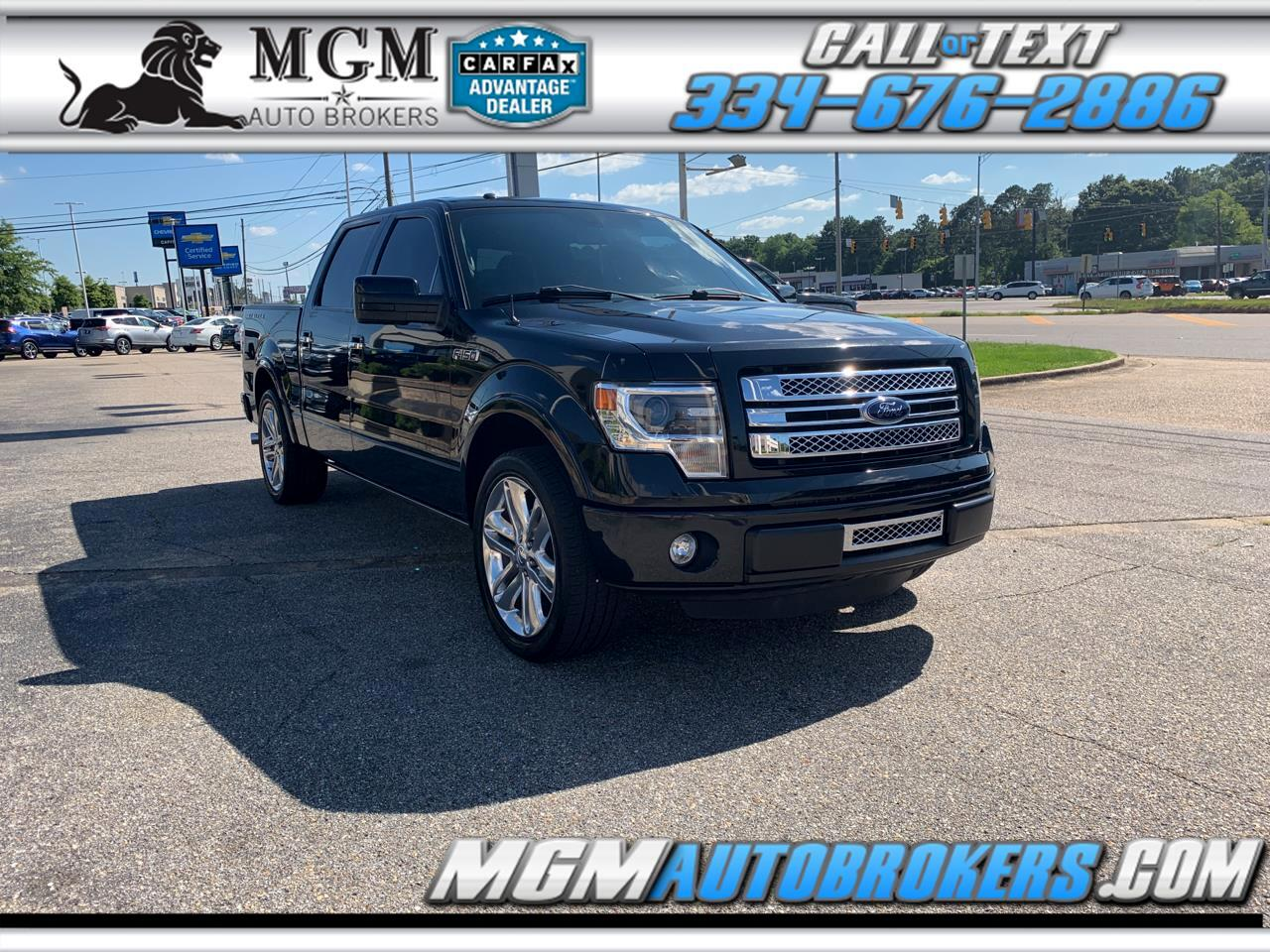 2013 Ford F-150 SUPERCREW LIMITED