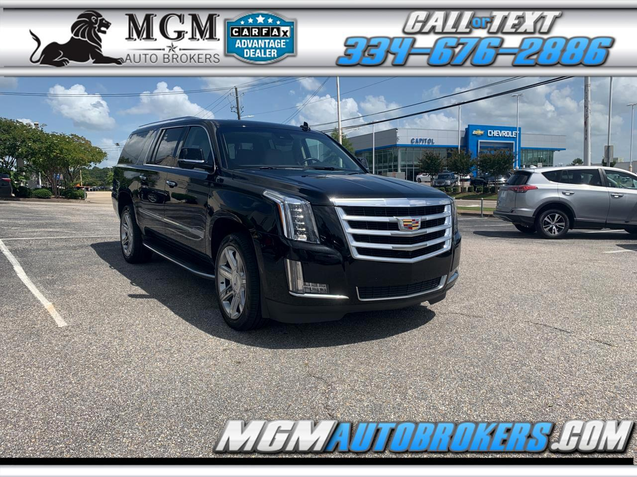 2018 Cadillac Escalade ESV ESV LUXURY