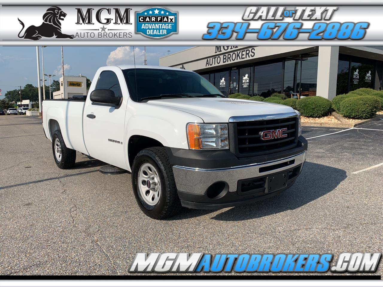 2009 GMC Sierra 1500 Reg. Cab 8-ft. Bed 2WD