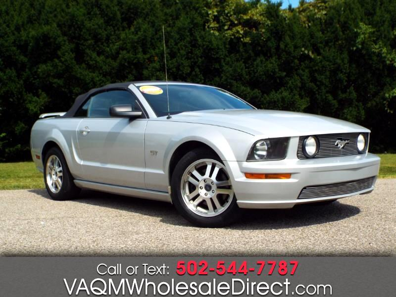 2005 Ford Mustang GT Deluxe Convertible