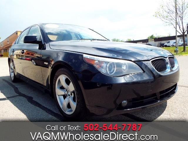 Va Quality Motors >> Used 2007 Bmw 5 Series 530i For Sale In Louisville Ky 40228