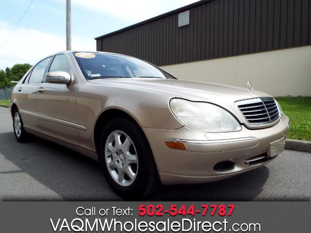 Used 2001 Mercedes Benz S Class S430 In Louisville Ky Near 40228 Wdbng70j61a202094 Auto Com
