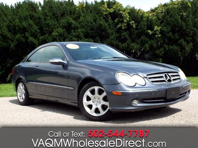 Mercedes-Benz CLK-Class CLK320 Coupe 2004