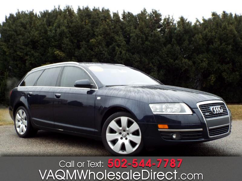 Audi A6 Avant 3.2 with Tiptronic 2007