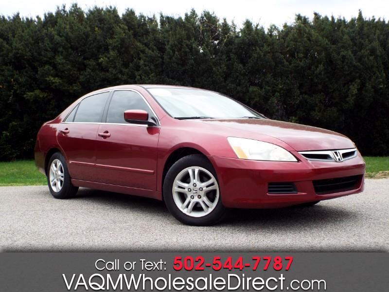 Honda Accord EX Sedan AT w/ Leather and XM Radio 2006