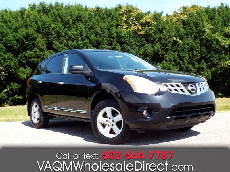 Nissan Rogue S AWD 2013