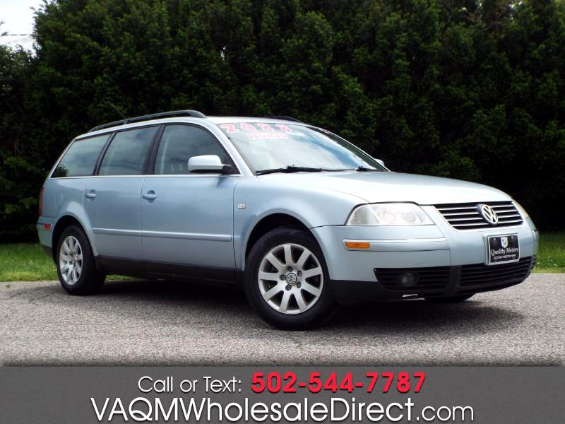 Volkswagen Passat Wagon GLS 2002