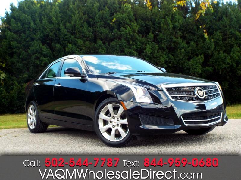 Cadillac ATS 2.0L Luxury AWD 2014