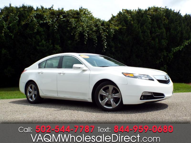 Acura TL 6-Speed AT with Advance Package 2012