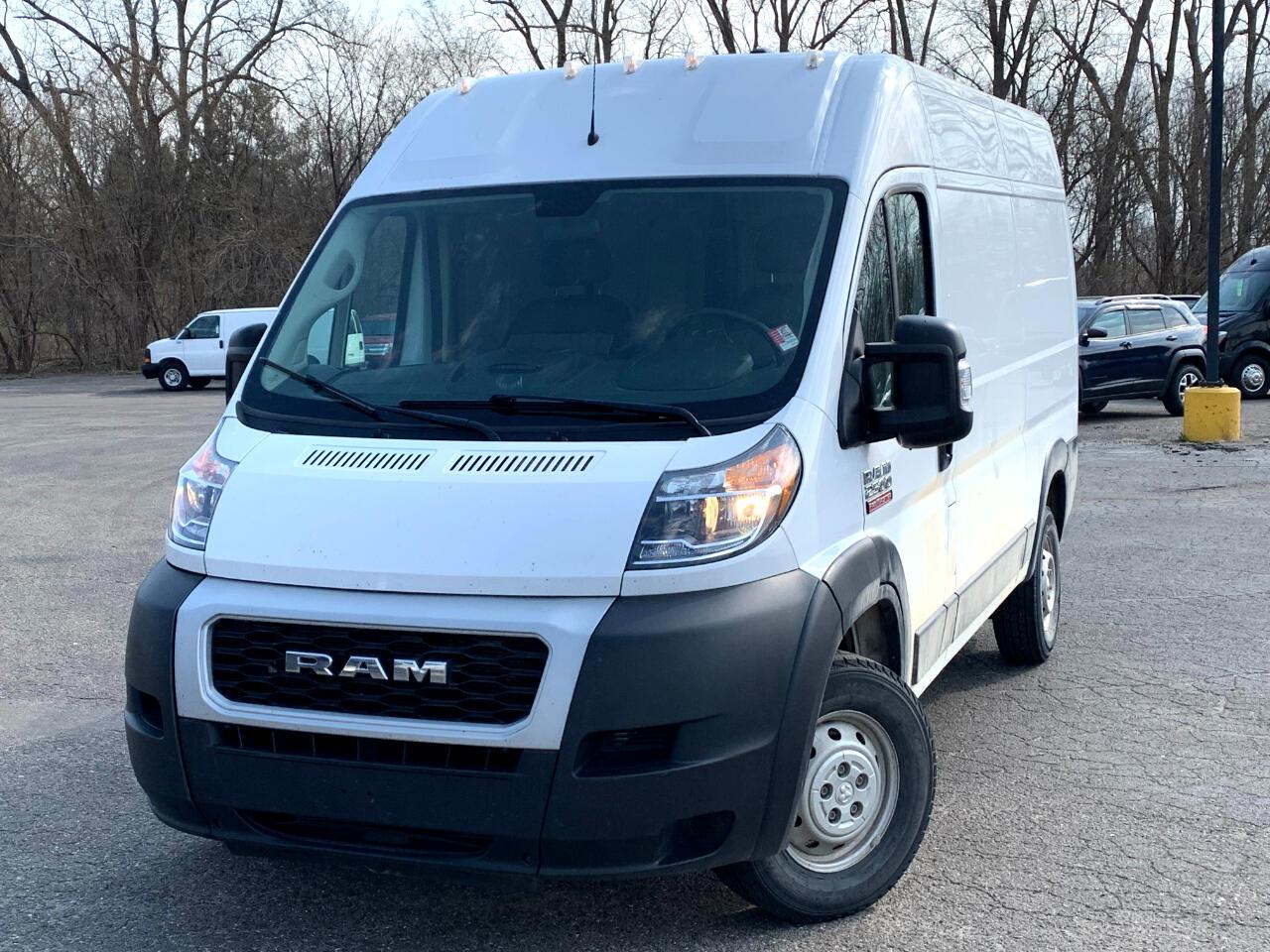 "RAM ProMaster Cargo Van 1500 High Roof 136"" WB 2019"