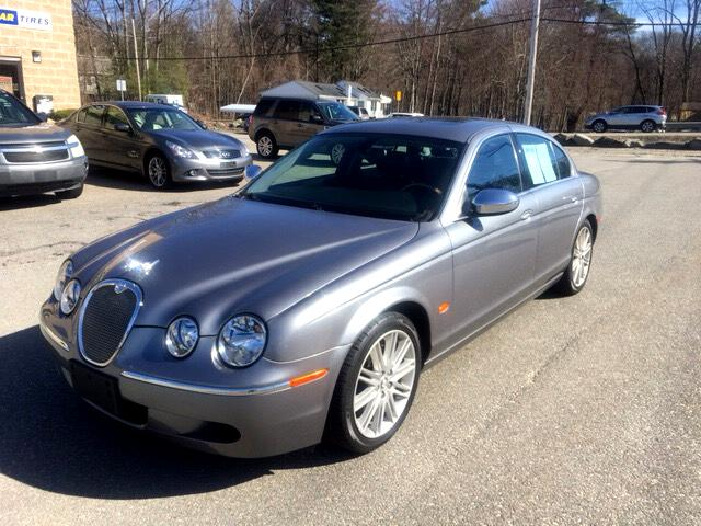 used 2008 jaguar s type 3 0 for sale in leominster ma 01453 quinn 39 s car sales. Black Bedroom Furniture Sets. Home Design Ideas