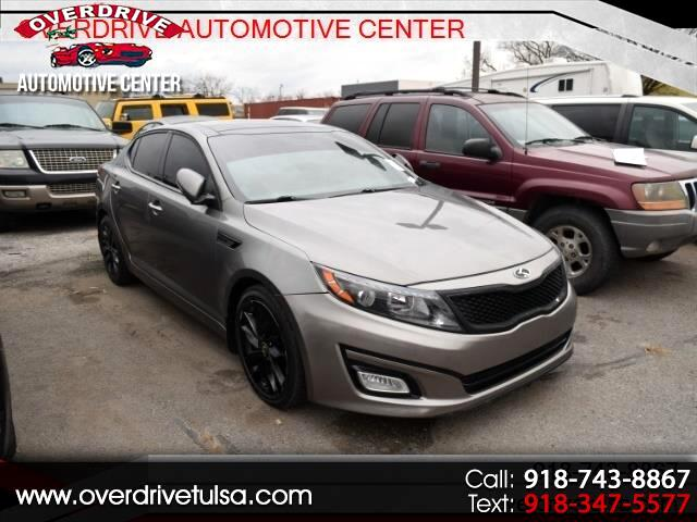 2015 Kia Optima 4dr Sdn SX Turbo