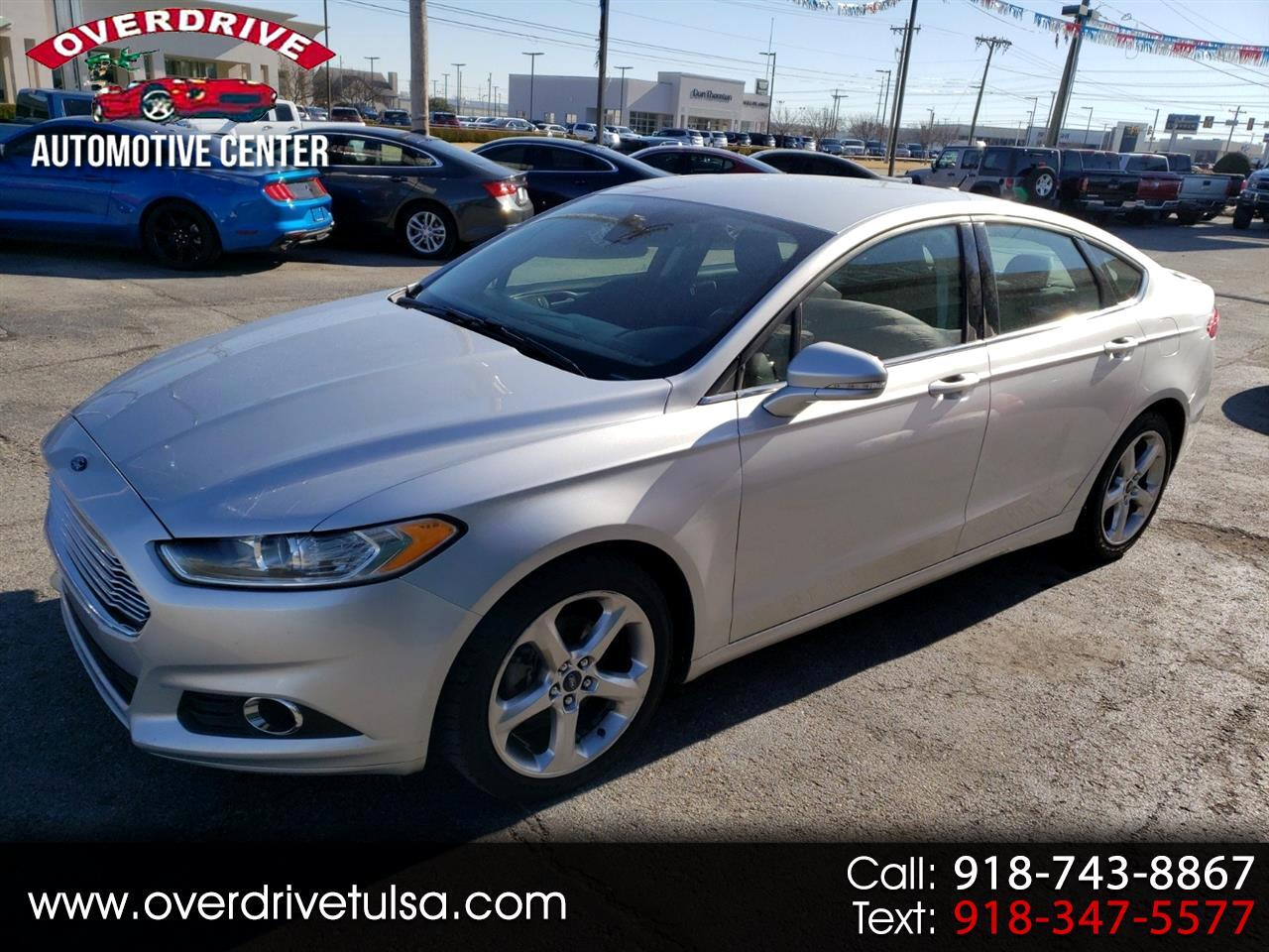 Ford Fusion 4dr Sdn SE AWD 2016