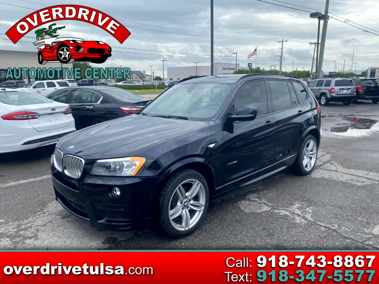 BMW X3 AWD 4dr xDrive35i 2014