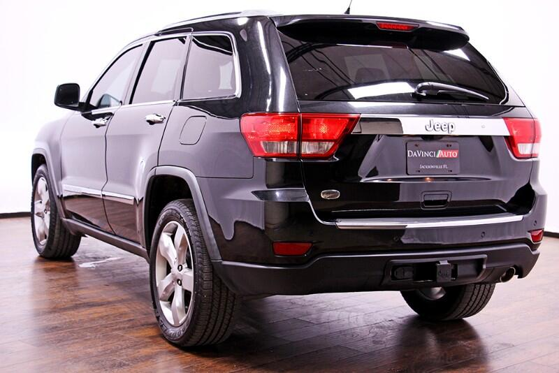 2012 Jeep Grand Cherokee Overland 2WD