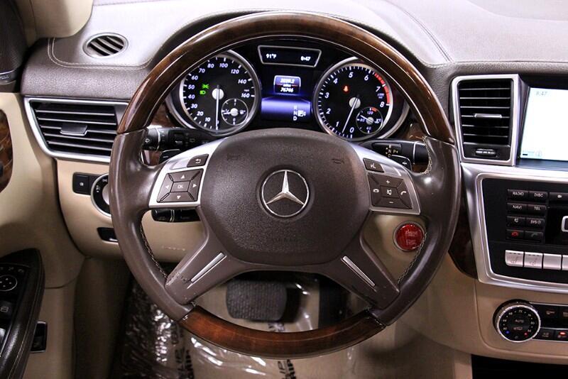 2014 Mercedes-Benz GL-Class GL550 4MATIC
