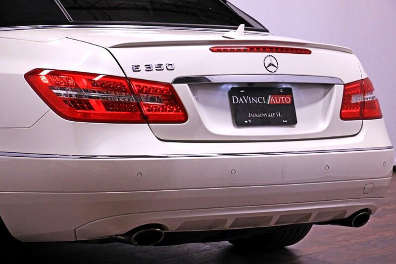 2013 Mercedes-Benz E-Class E350 Cabriolet