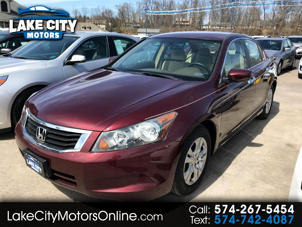 2008 Honda Accord LX 4-Door Sedan