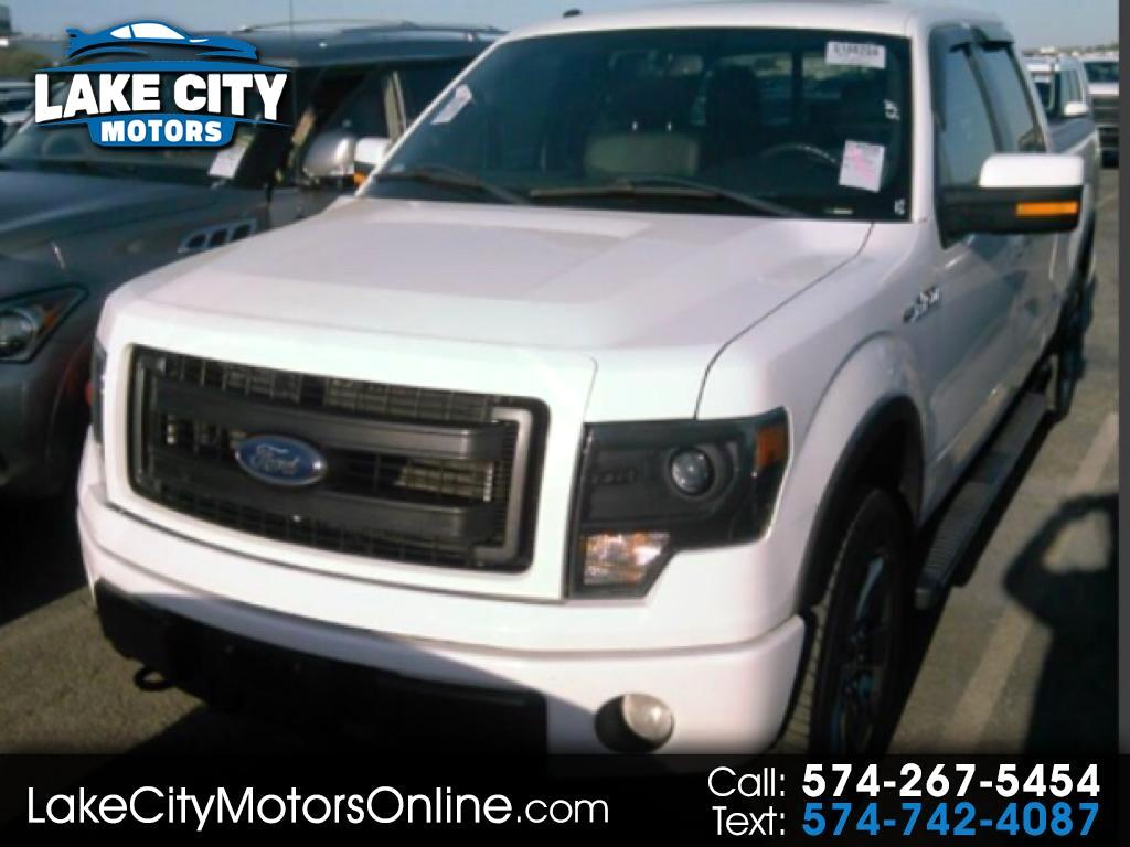 "2014 Ford F-150 SuperCrew 139"" FX4 4WD"