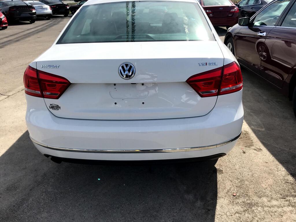 2015 Volkswagen Passat 4dr Sdn 1.8T Auto SEL Premium PZEV