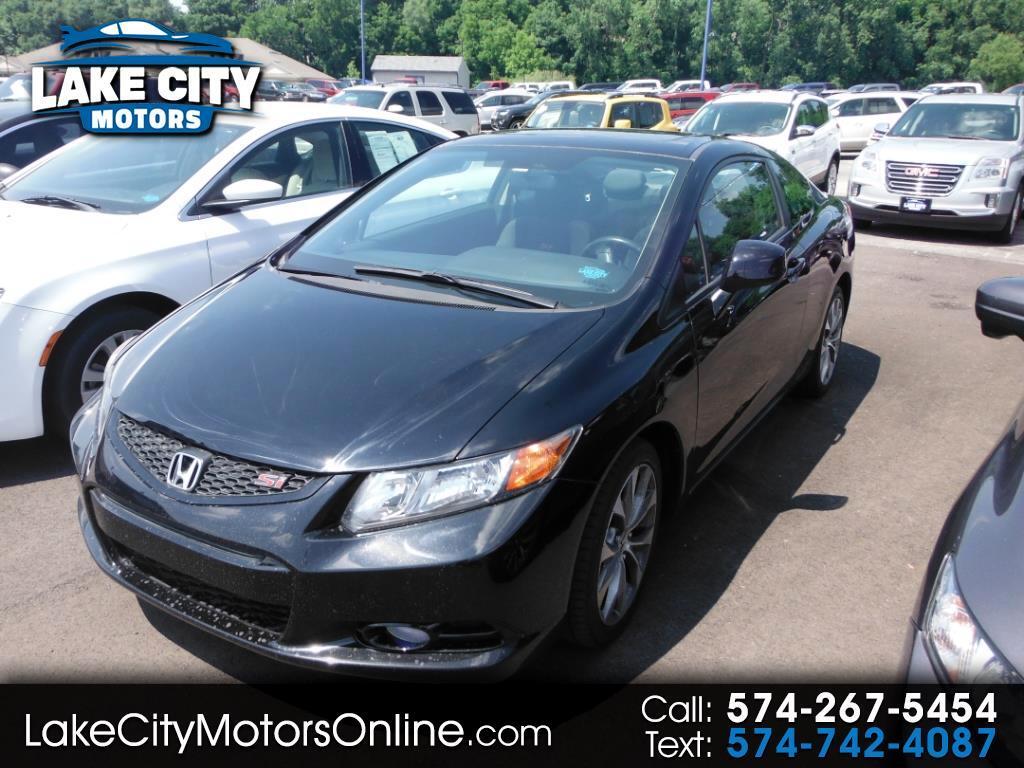 2012 Honda Civic Cpe 2dr Man Si