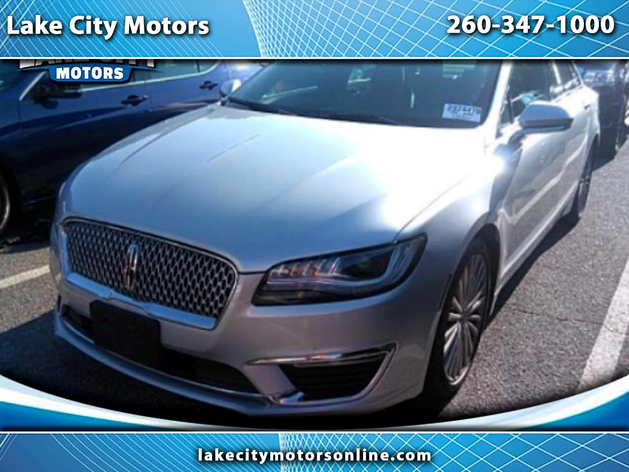2017 Lincoln MKZ 4dr Sdn Black Label AWD