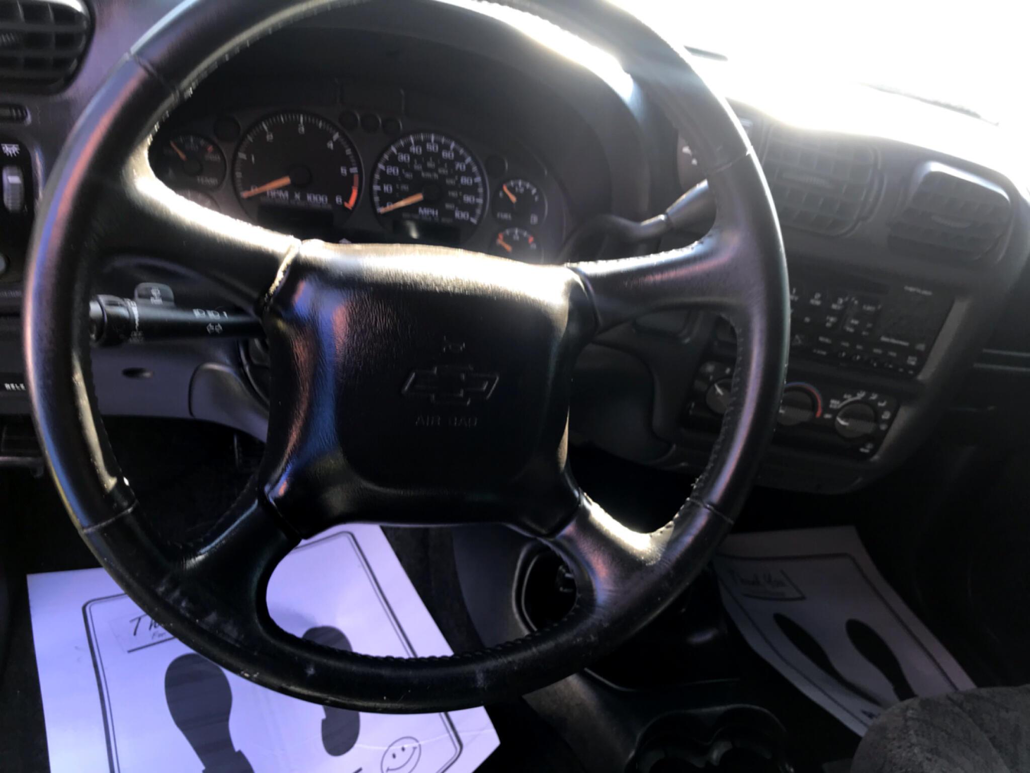 2002 Chevrolet S-10 Crew Cab 123