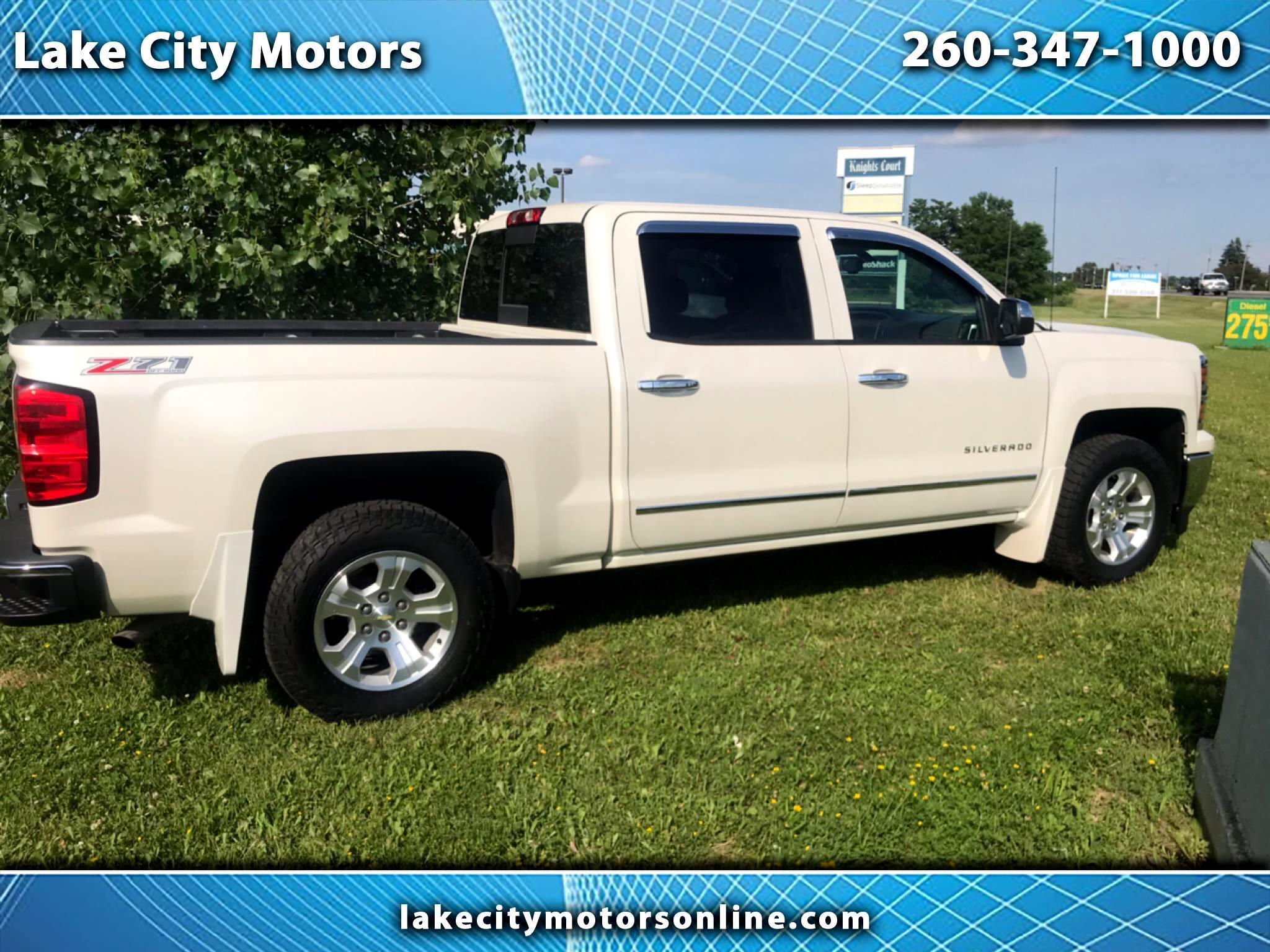 "2014 Chevrolet Silverado 1500 4WD Crew Cab 143.5"" LTZ w/2LZ"
