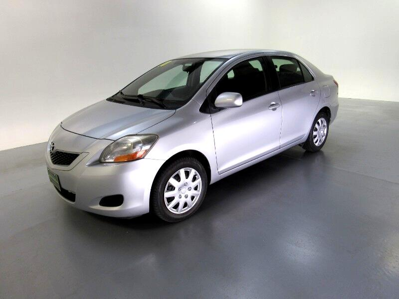 2010 Toyota Yaris Sedan 5-Speed MT