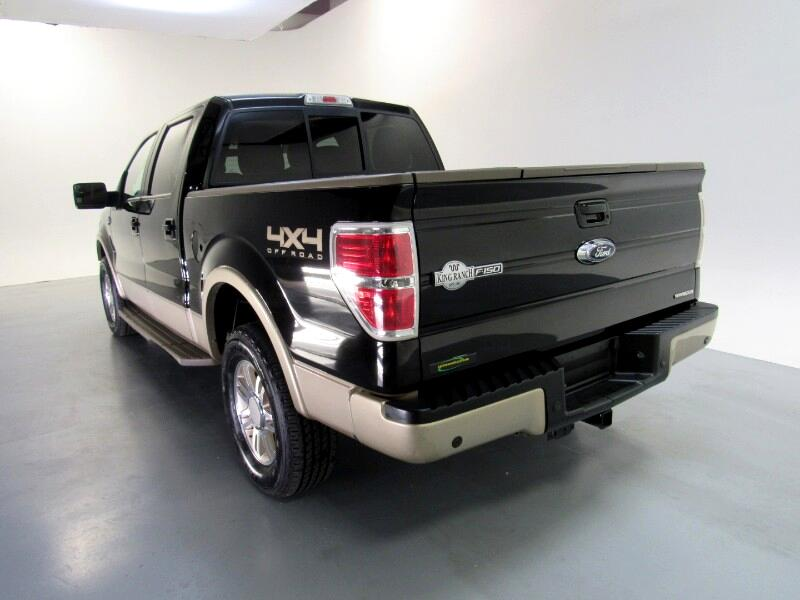 Ford F-150 King-Ranch SuperCrew 5.5-ft. Bed 4WD 2011