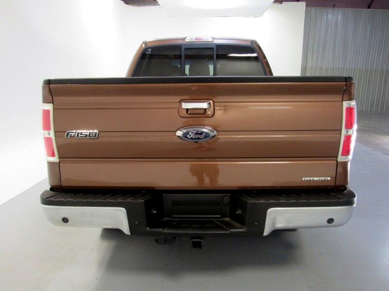 Ford F-150 Lariat SuperCrew 5.5-ft. Bed 4WD 2011