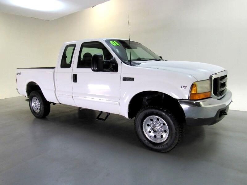 2001 Ford F-250 SD XLT SuperCab Short Bed 4WD